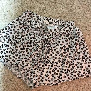 Cute H&M Cheetah Shorts